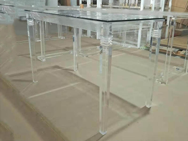 Transparent desk|dining table order